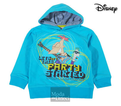 PHINEAS AND FERB bluza z kapturem