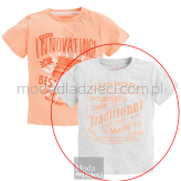 MAYORAL T-shirt szary Traditional
