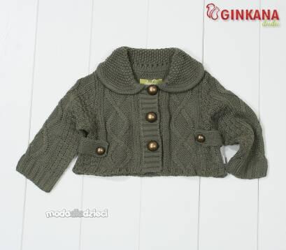 c781d5fff2e3b4 Sweterek bolerko z kołnierzykiem